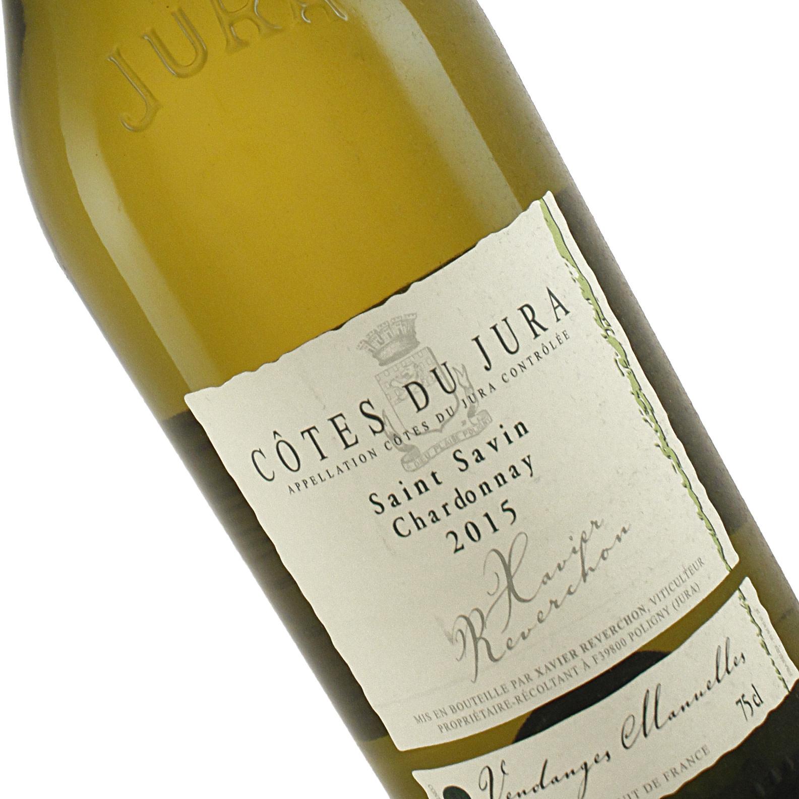 Xavier Reverchon 2015 Chardonnay Saint Savin Cotes Du Jura
