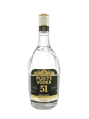 Purity 51 Times Distilled Premium Organic Vodka, Malmo, Sweden