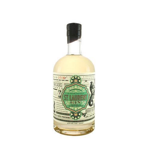 Distillerie Du St. Laurent Gin Finished in Whisky Barrels Rimouski, Quebec
