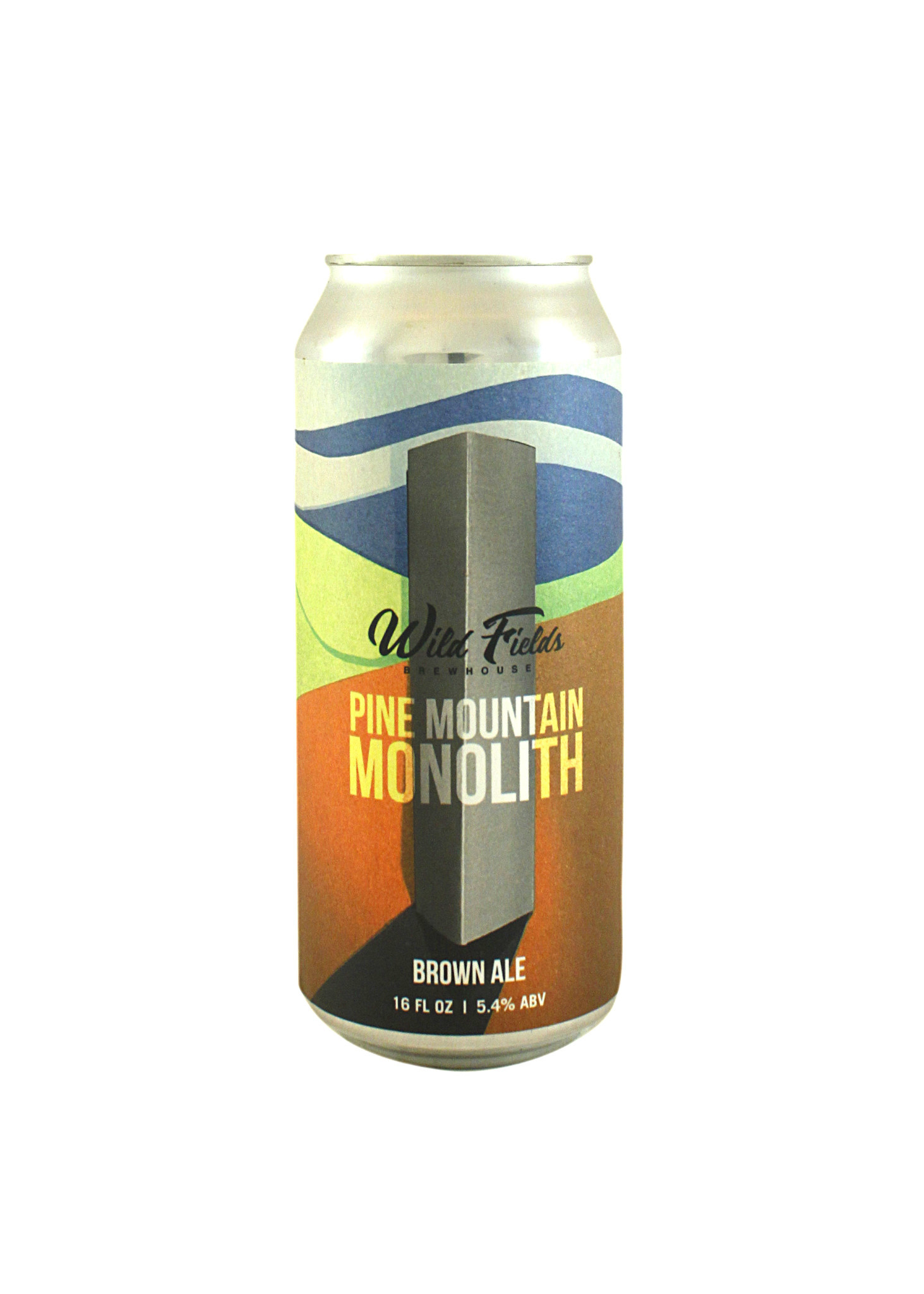 """Wild Fields Brewhouse """"Pine Mountain Monolith"""" Brown Ale 16oz. can - Atascadero, CA"""