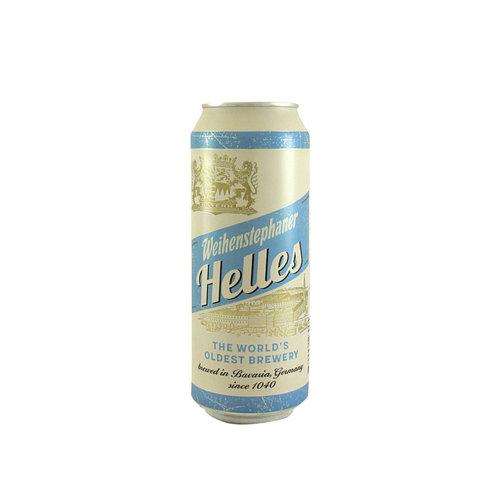 Weihenstephaner Helles Lager 500ml can - Bavaria, Germany
