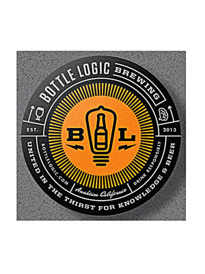 "Bottle Logic Brewing ""Adjust for Altitude"" Chocolate Biscotti Stout 500ml. Anaheim, CA"