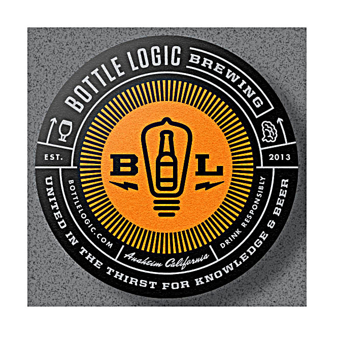 """Bottle Logic Brewing """"Gap Year"""" Candy Bar-Inspired Imperial Stout 500ml Bottle - Anaheim, CA"""