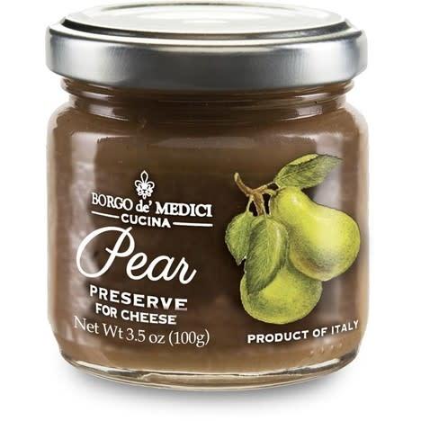 Borgo de' Medici, Pear Preserve for Cheese Tasting, 3.5 oz