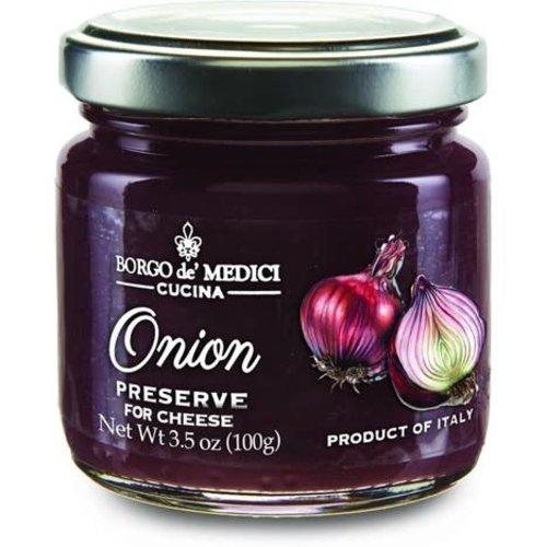 Borgo de' Medici, Onion Preserve for Cheese Tasting, 3.5 oz