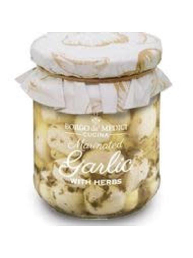Borgo de' Medici, Marinated Garlic with Herbs, 6.3 oz