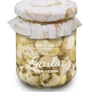 Borgo de' Medici, Marinated Garlic with Herbs, 6.3 oz