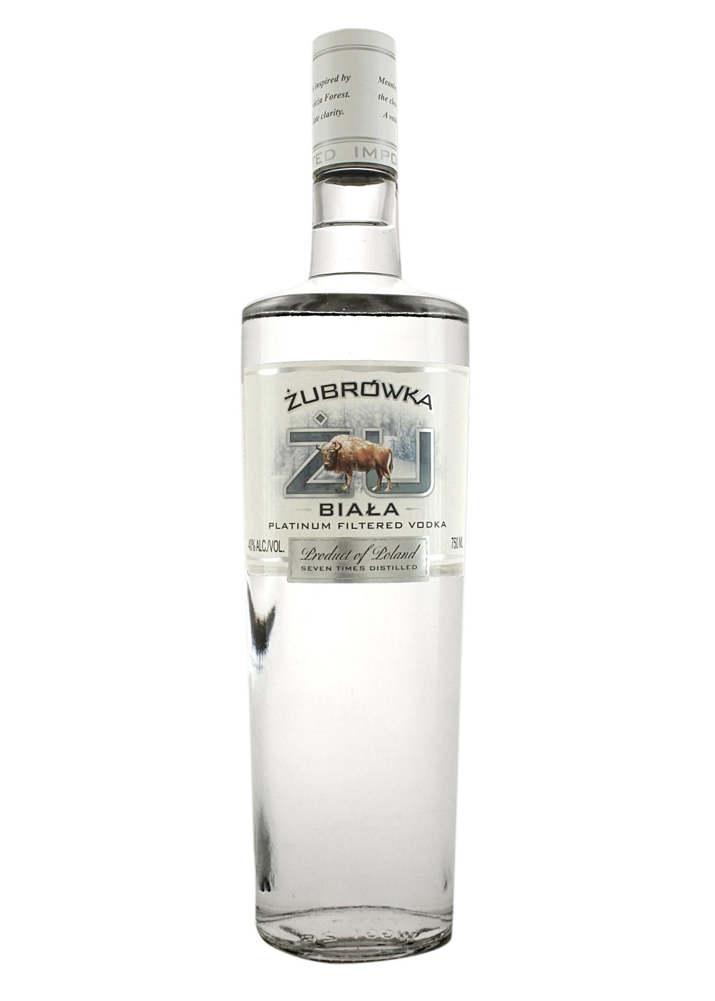 Zubrowka Biala Winter Rye Vodka, Poland