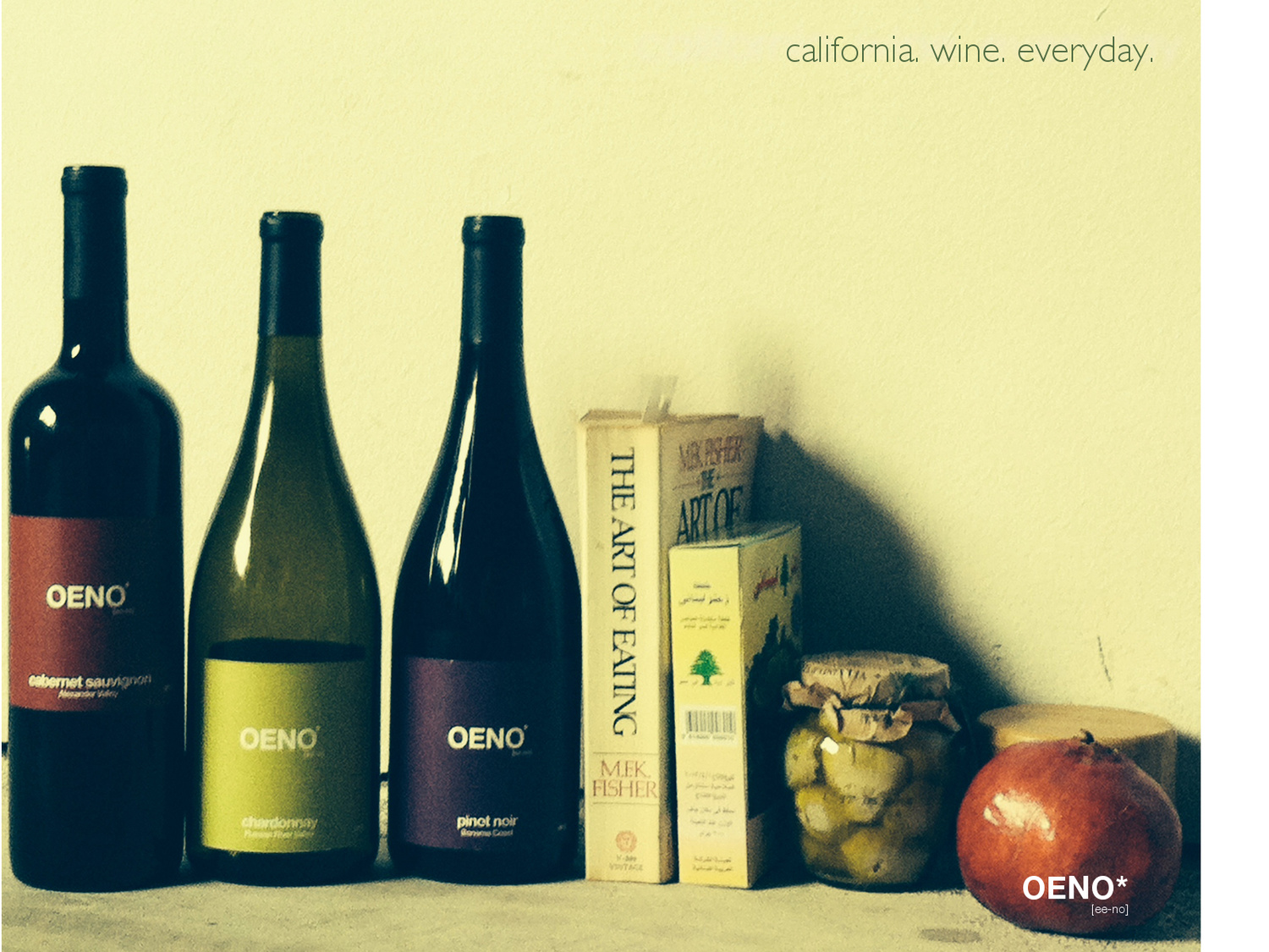 The Art of Oeno--Natural Wines from Sonoma's Russian River Valley