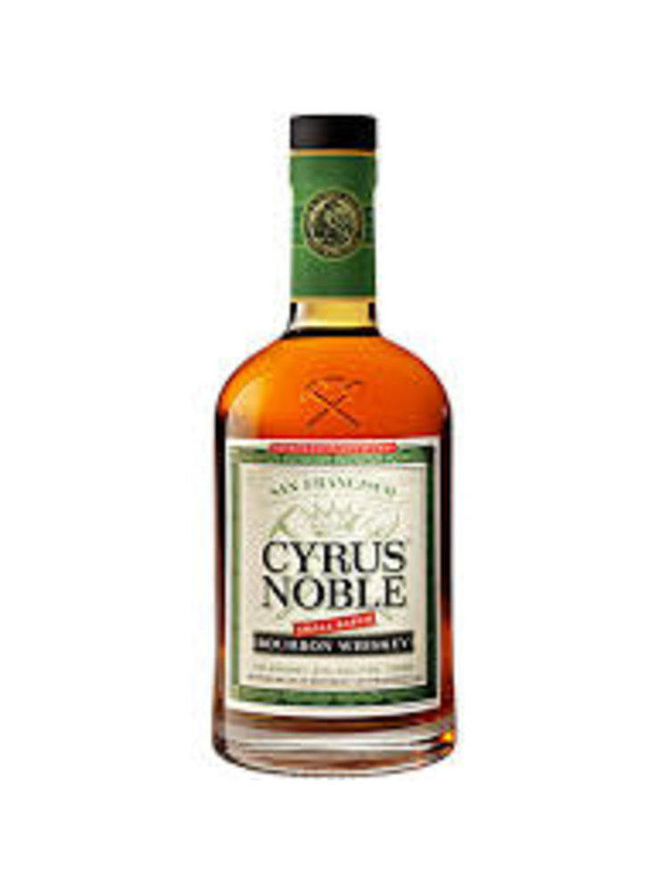 Cyrus Noble Small Batch Bourbon Whiskey, Kentucky