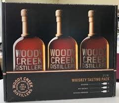 Woody Creek Distillers Whiskey Gift Set, 3x375ml, Basalt, Colorado