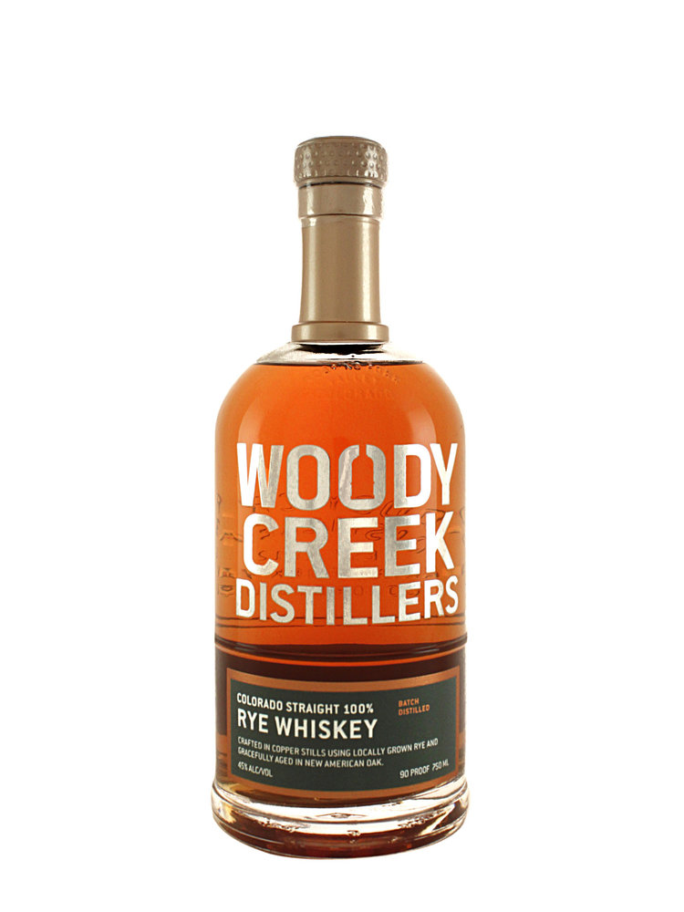 Woody Creek Straight Rye Whiskey, Basalt, Colorado