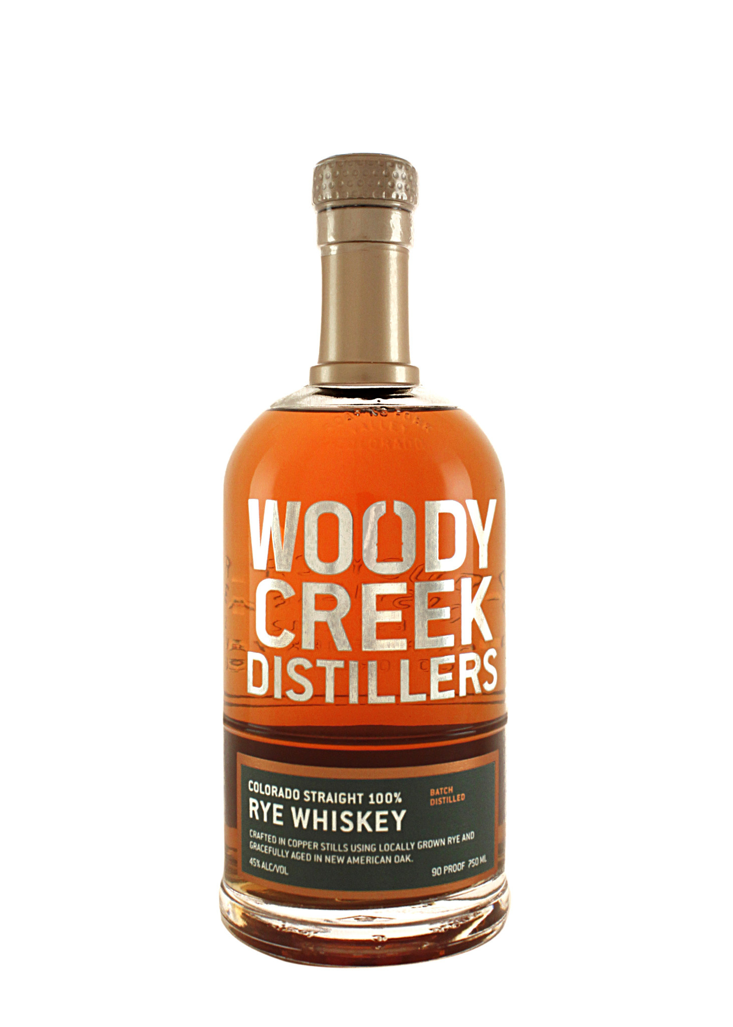 Woody Creek Straight Rye Whiskey, Colorado