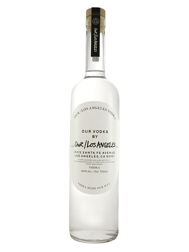 "Our/Los Angeles Vodka ""Live Through Love"""