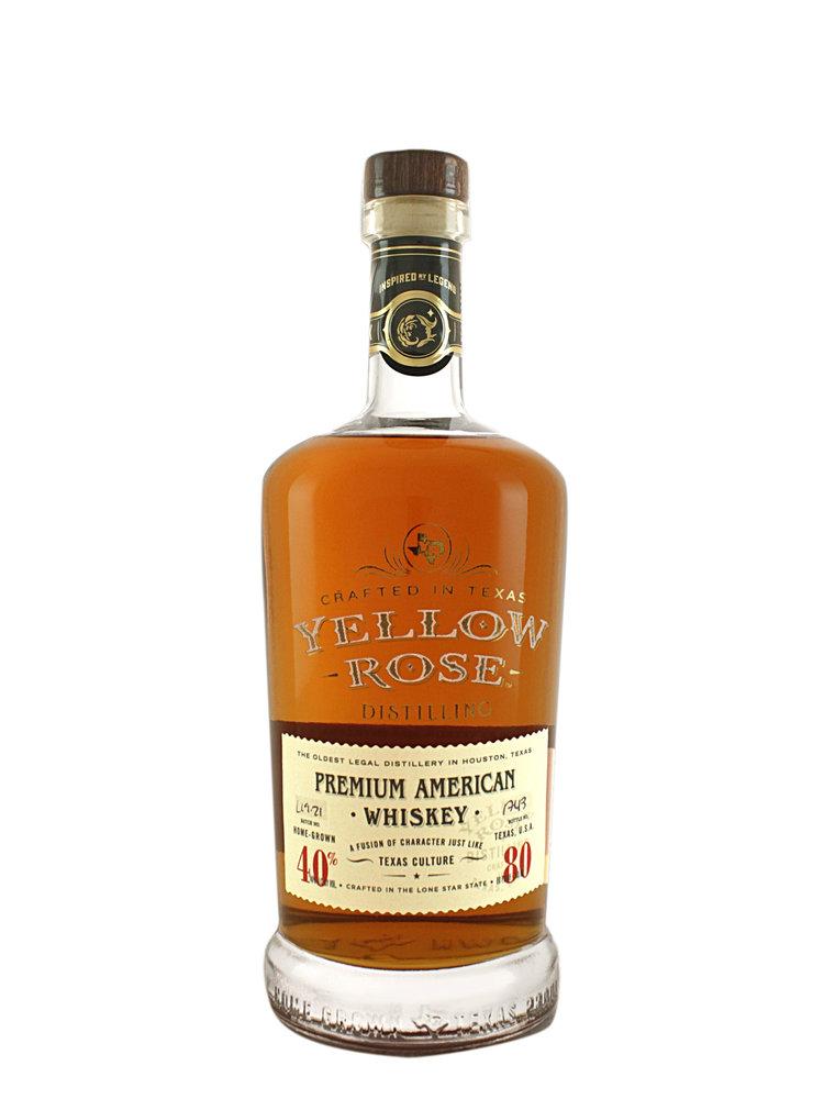 Yellow Rose Premium American Whiskey, Texas