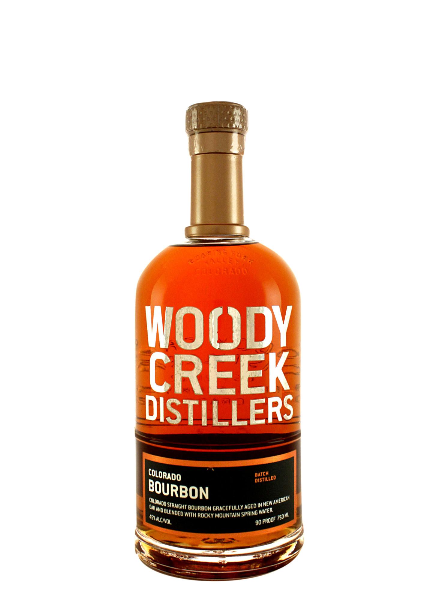 Woody Creek Straight Bourbon Whiskey, Basalt, Colorado
