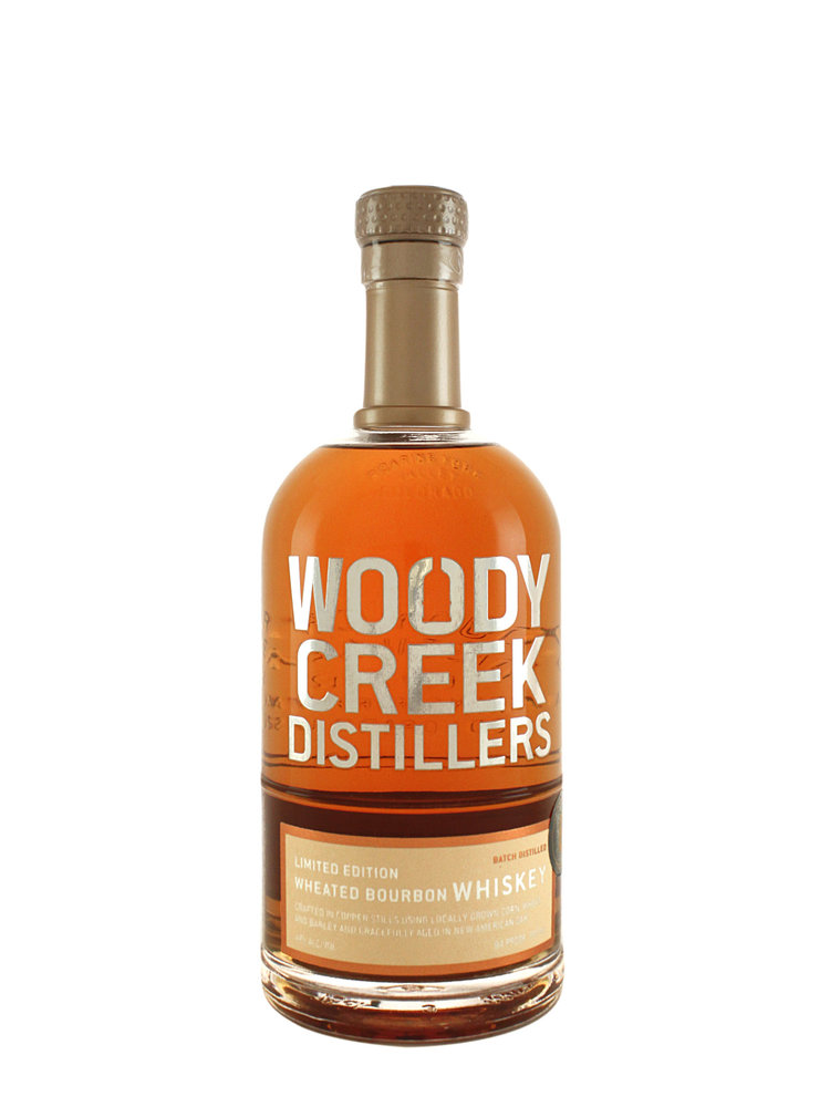Woody Creek Wheated Bourbon Whiskey, Basalt, Colorado