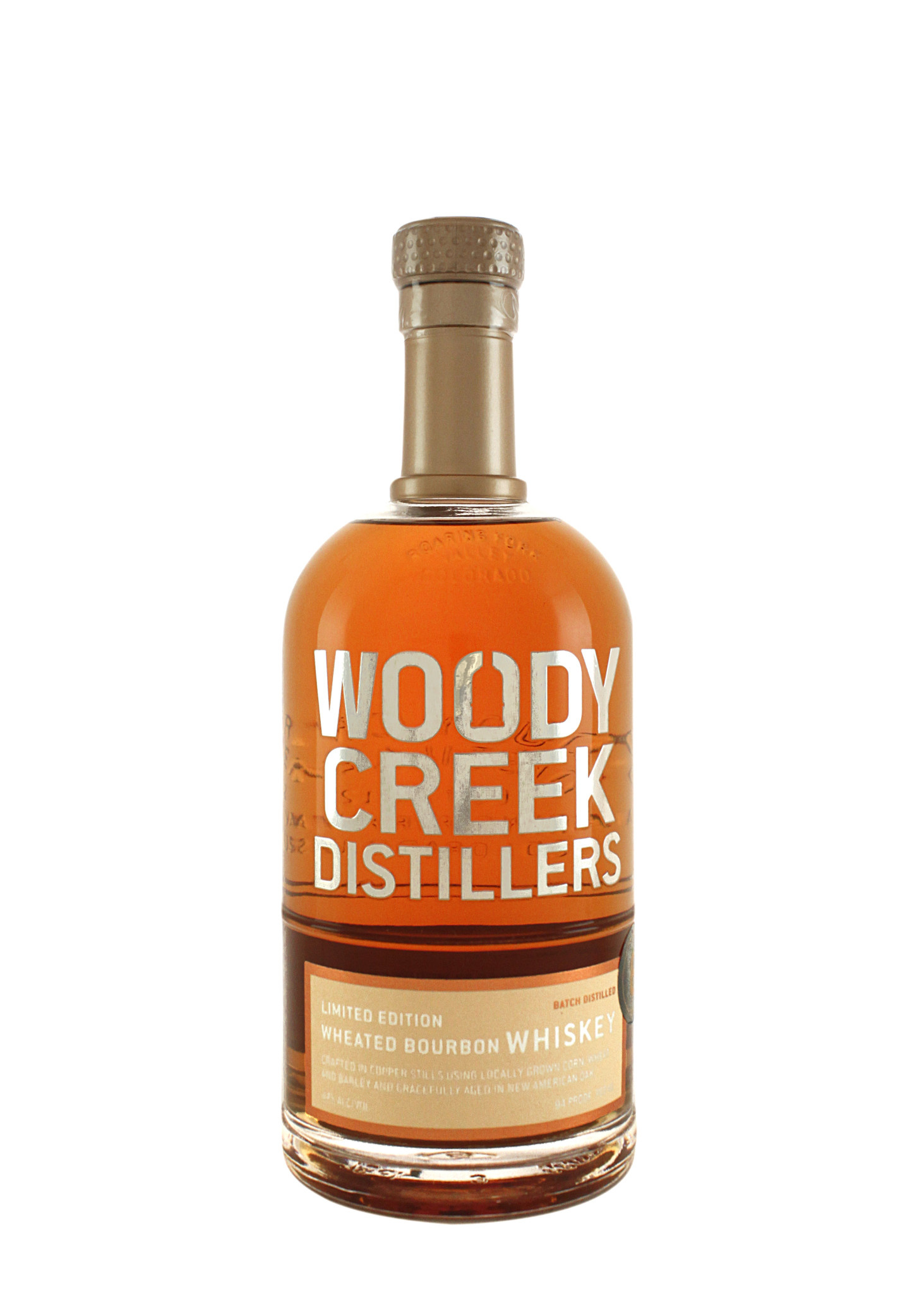Woody Creek Wheated Bourbon Whiskey, Basalt, Colorado--May's Spirit of the Month!