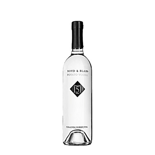 Boyd & Blair Professional 151 Proof Potato Vodka, Glenshaw, Pennsylvania, 375ml