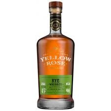 Yellow Rose Rye Whiskey, Texas