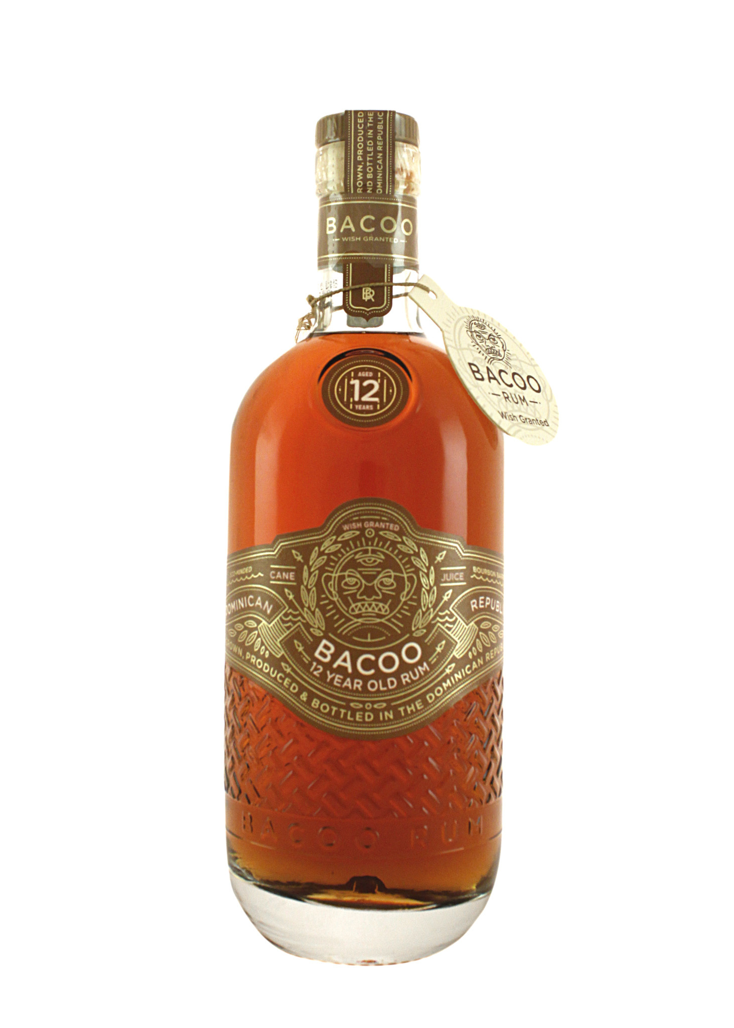 Bacoo Rum Aged 12 Years, Dominican Republic