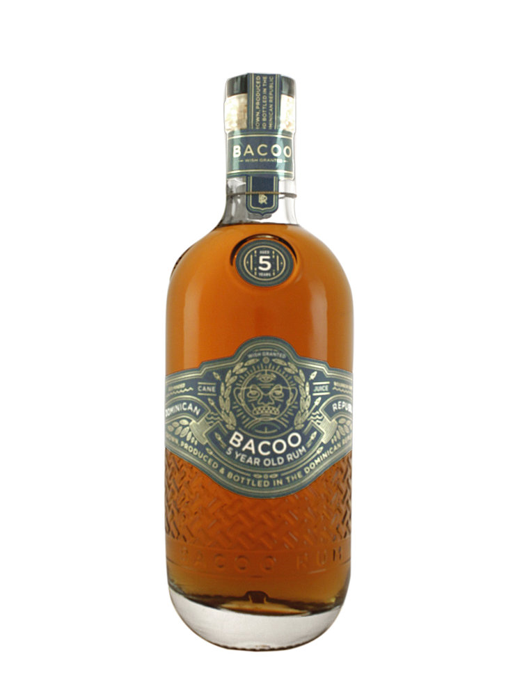 Bacoo 5 Year Old Rum, Dominican Republic
