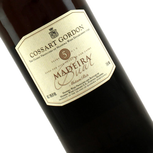 Cossart Gordon 5 Year Old Bual Madeira, Portugal