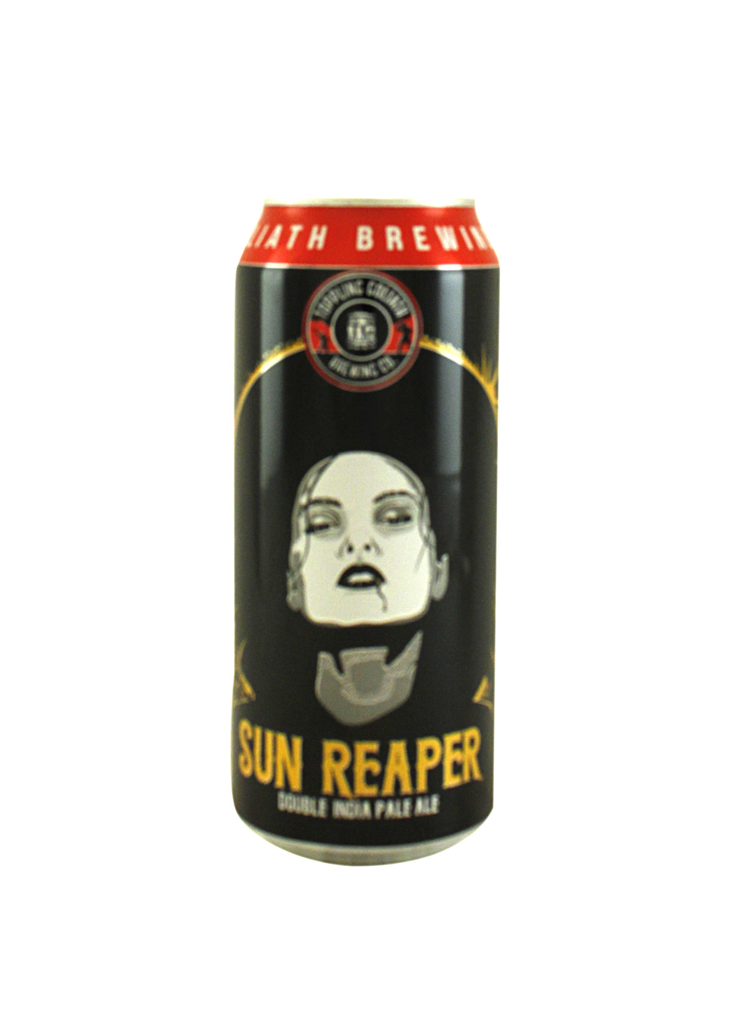 "Toppling Goliath Brewing ""Sun Reaper"" Double IPA 16oz. can - Decorah, IA"
