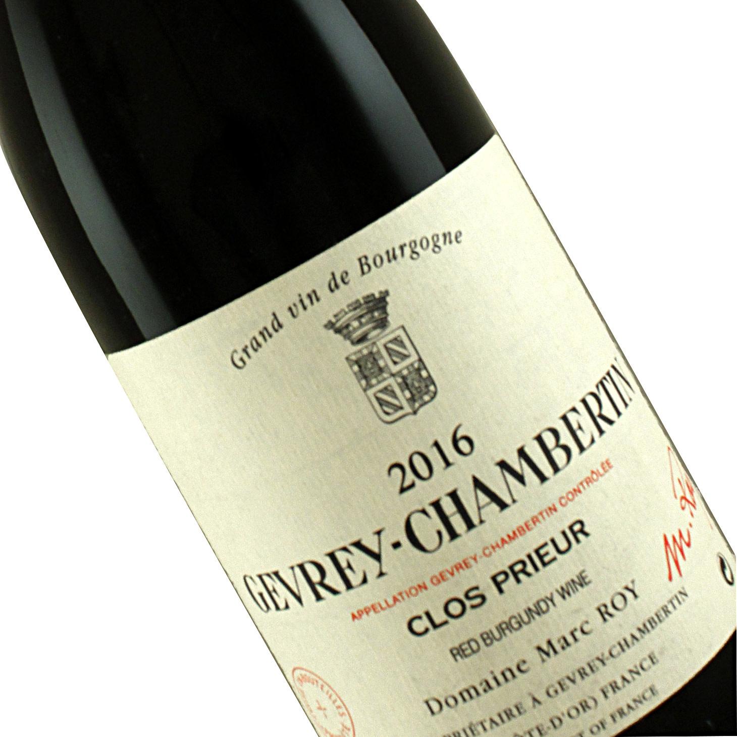 Domaine Marc Roy 2016 Gevrey-Chambertin Clos Prieur, Burgundy