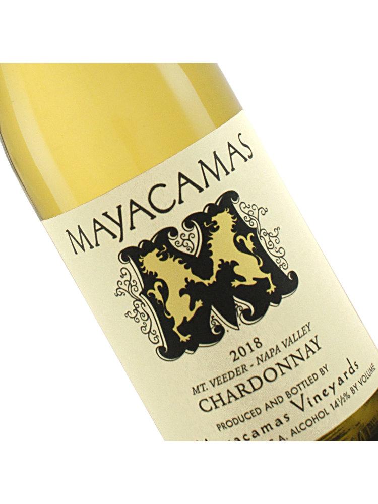 Mayacamas 2018 Chardonnay Mt. Veeder, Napa Valley
