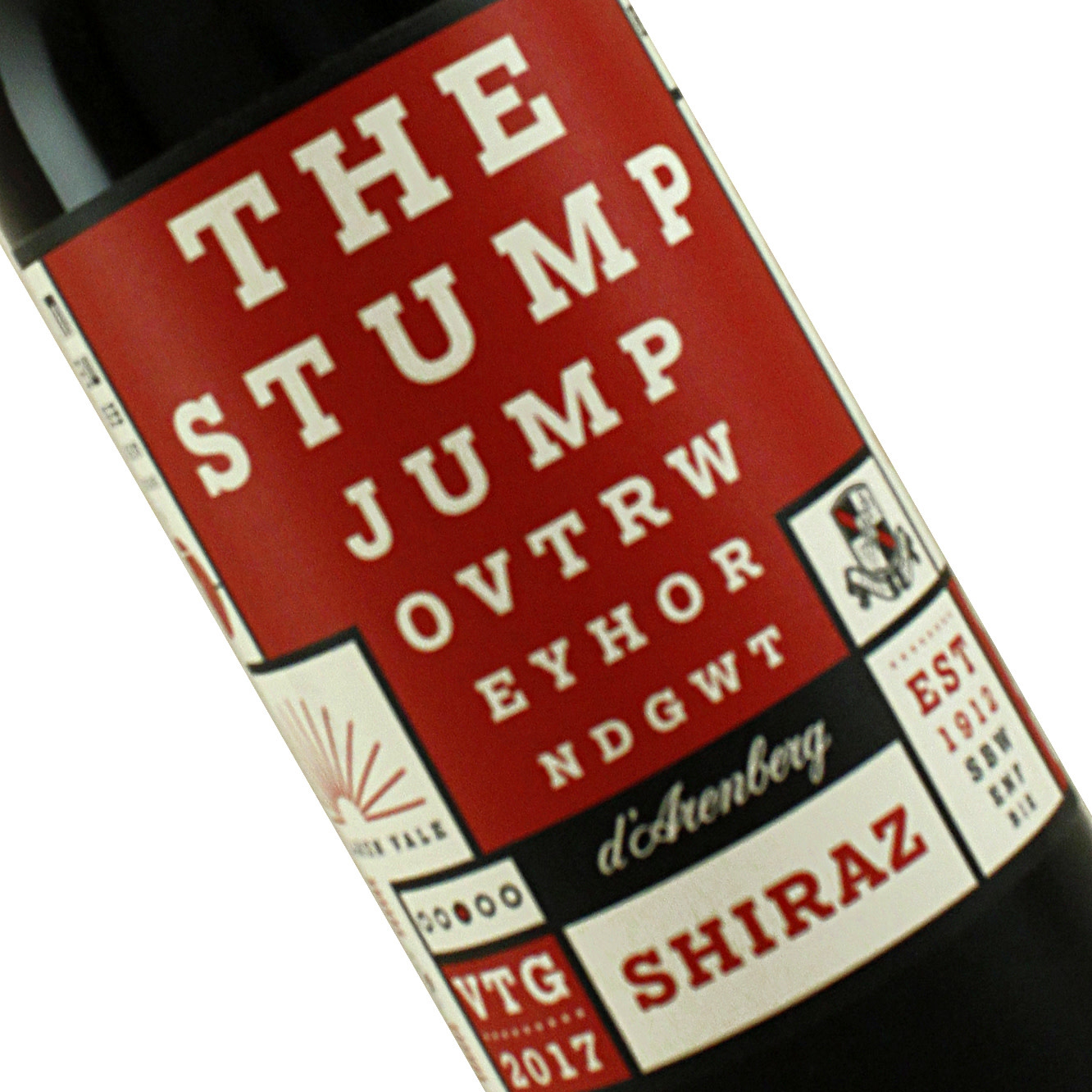 "D'Arenberg 2017  Shiraz ""The Stump Jump"" McLaren Vale"