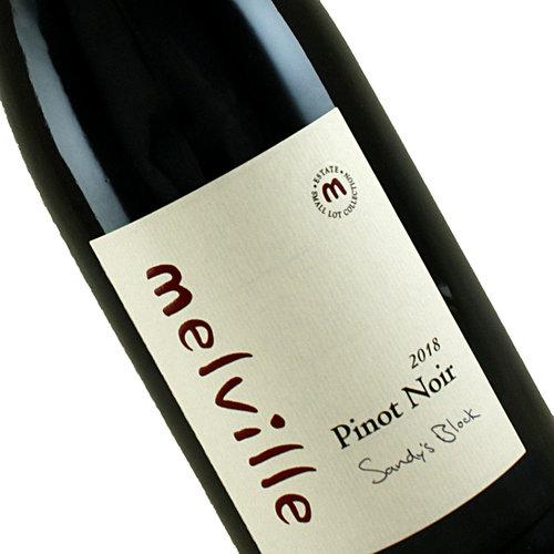 """Melville 2019 Pinot Noir """"Sandy's Block"""", Sta. Rita Hills"""