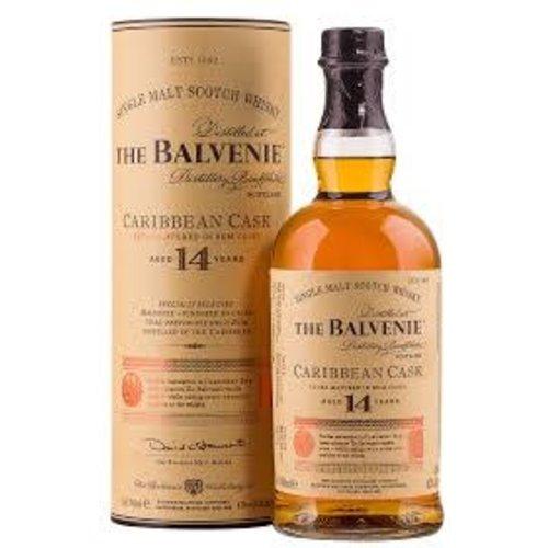 The Balvenie Single Malt Scotch Whisky Caribbean Cask Aged 14 Years