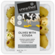 Unearthed  Greek Green Olives With Gouda & Cumin