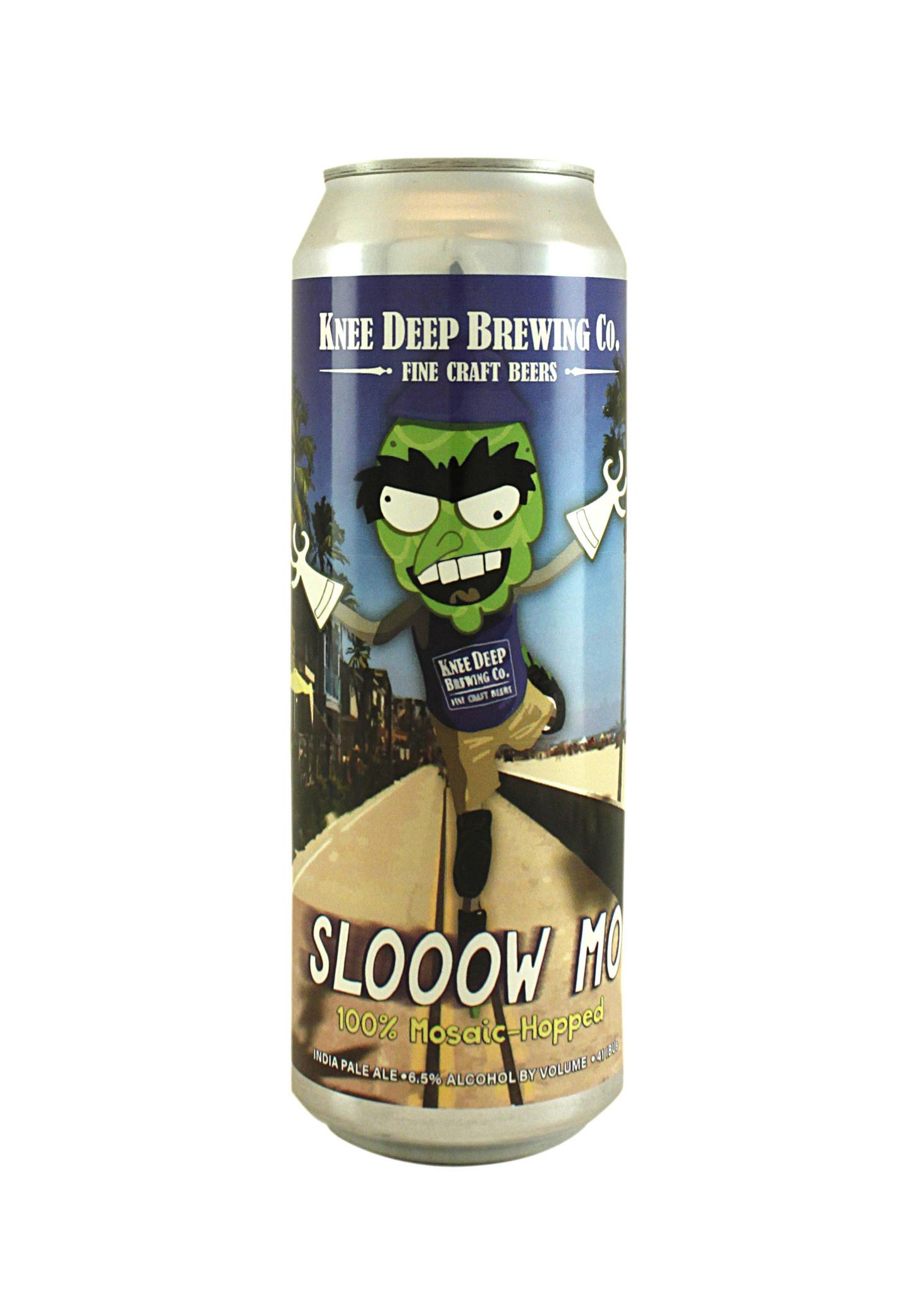 "Knee Deep Brewing ""Slooow Mo"" Mosaic-Hopped IPA 19.2oz. can -"