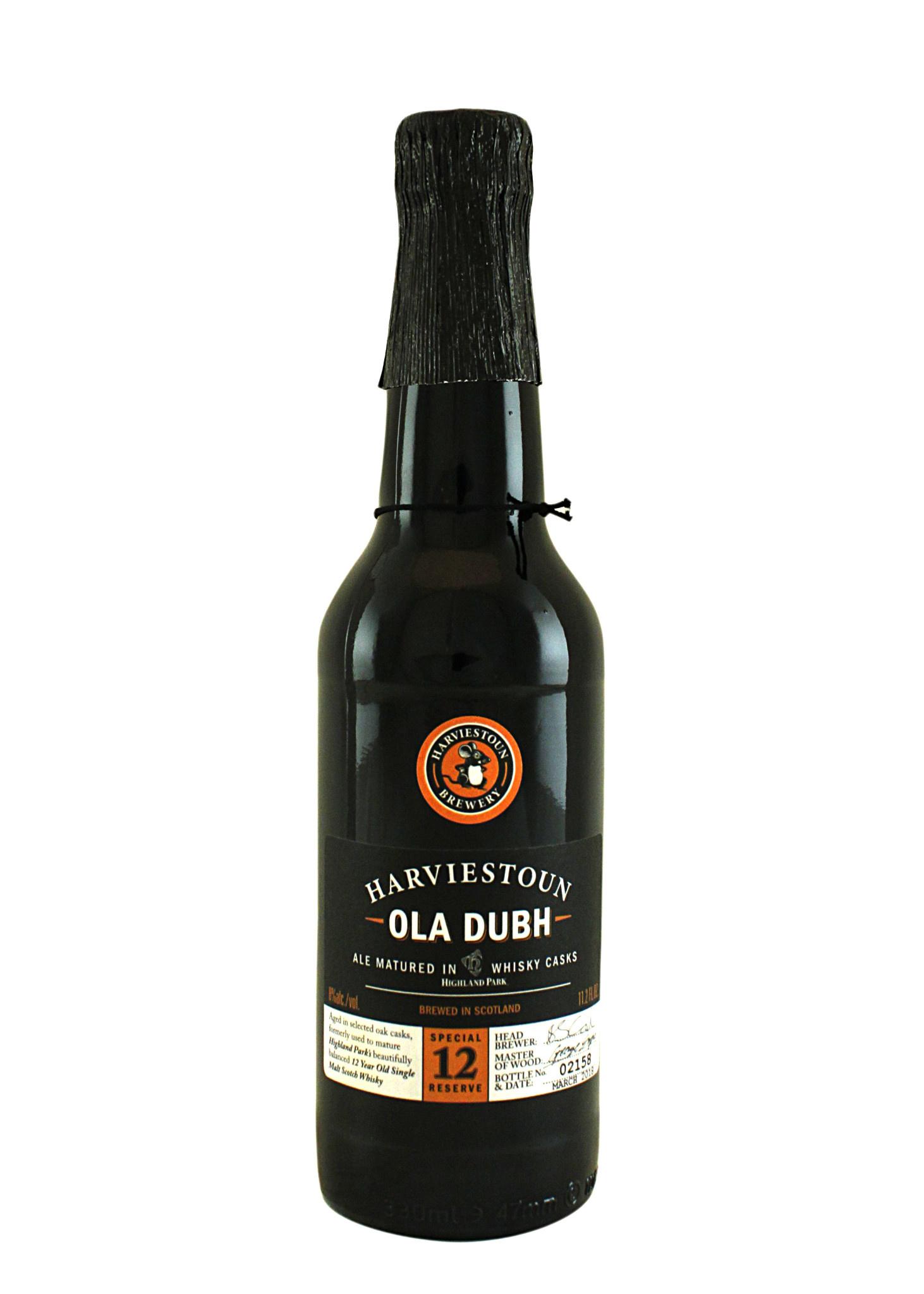 Harviestoun Ola Dubh Ale 12 Year Barrel-Aged , Scotland