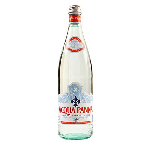 Acqua Panna Natural Spring Water 750ml glass, Italy