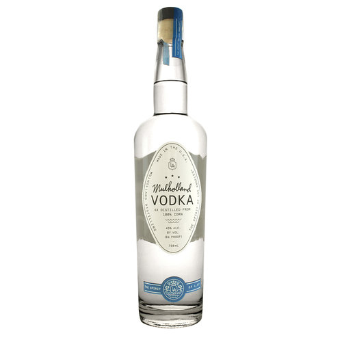 Mulholland Vodka, Los Angeles, California
