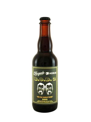 "El Segundo Brewing/Horus Collab ""B.O.B. 2 Big Ole Barleywine"" 2021 12.7oz. bottle - El Segundo, CA"