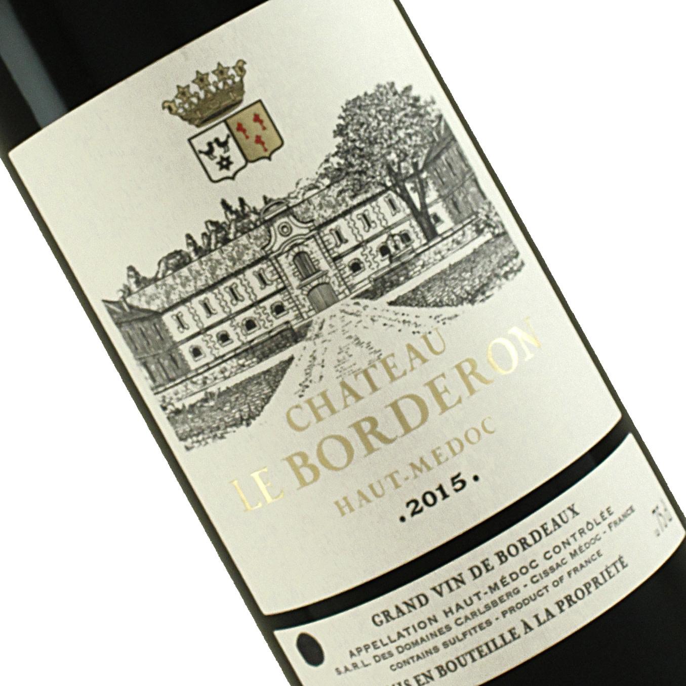 Chateau Le Borderon 2015 Haut Medoc Bordeaux