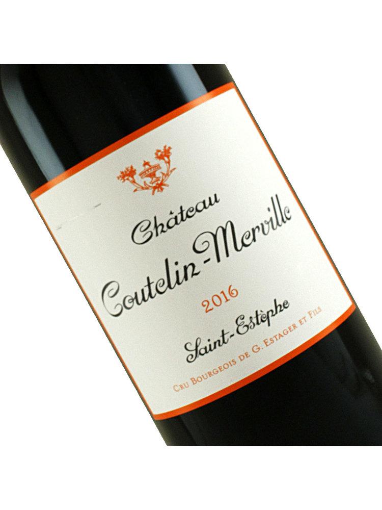 Chateau Coutelin-Merville 2016 Saint-Estephe Bordeaux