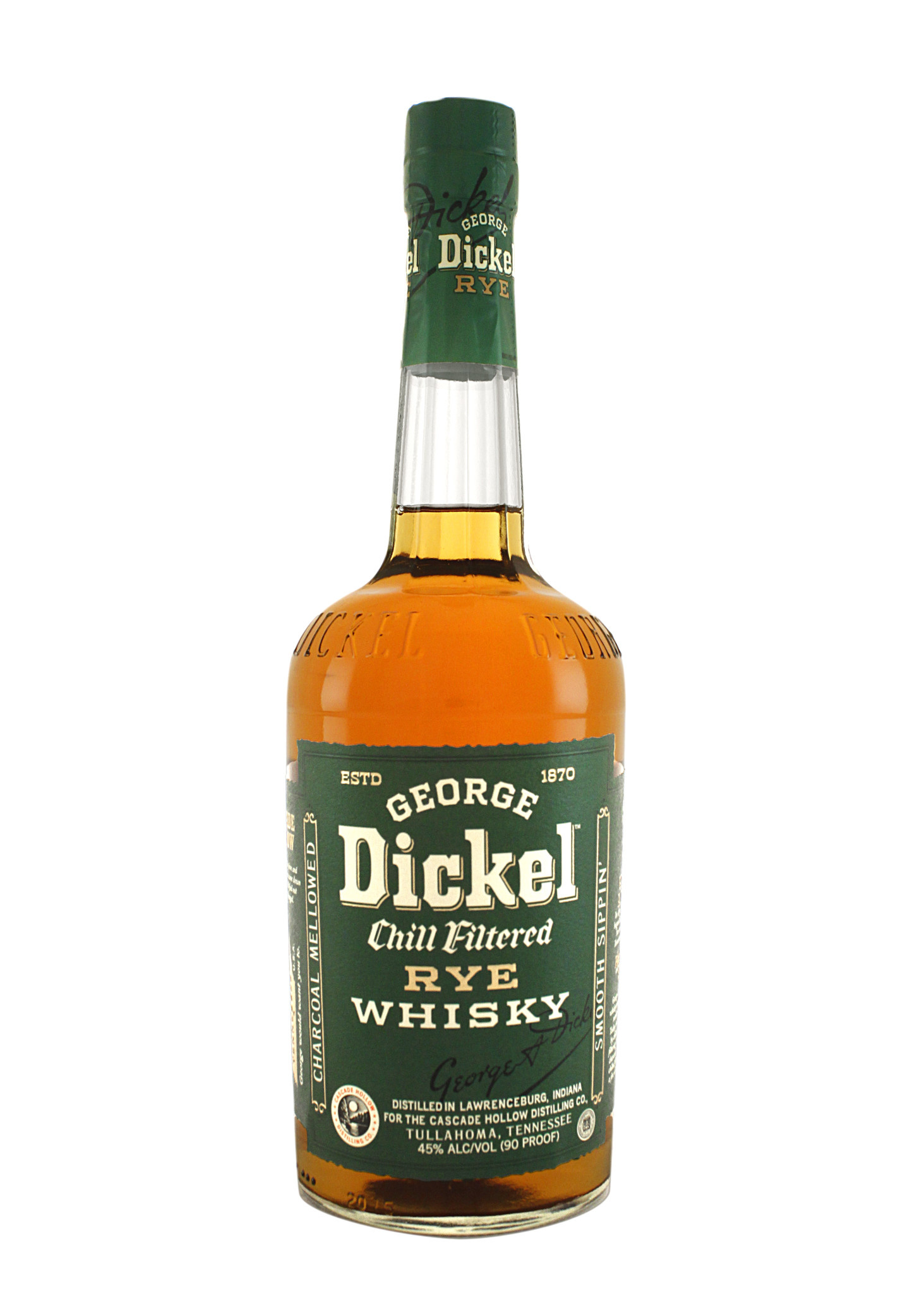George Dickel Rye Whiskey, Tennessee