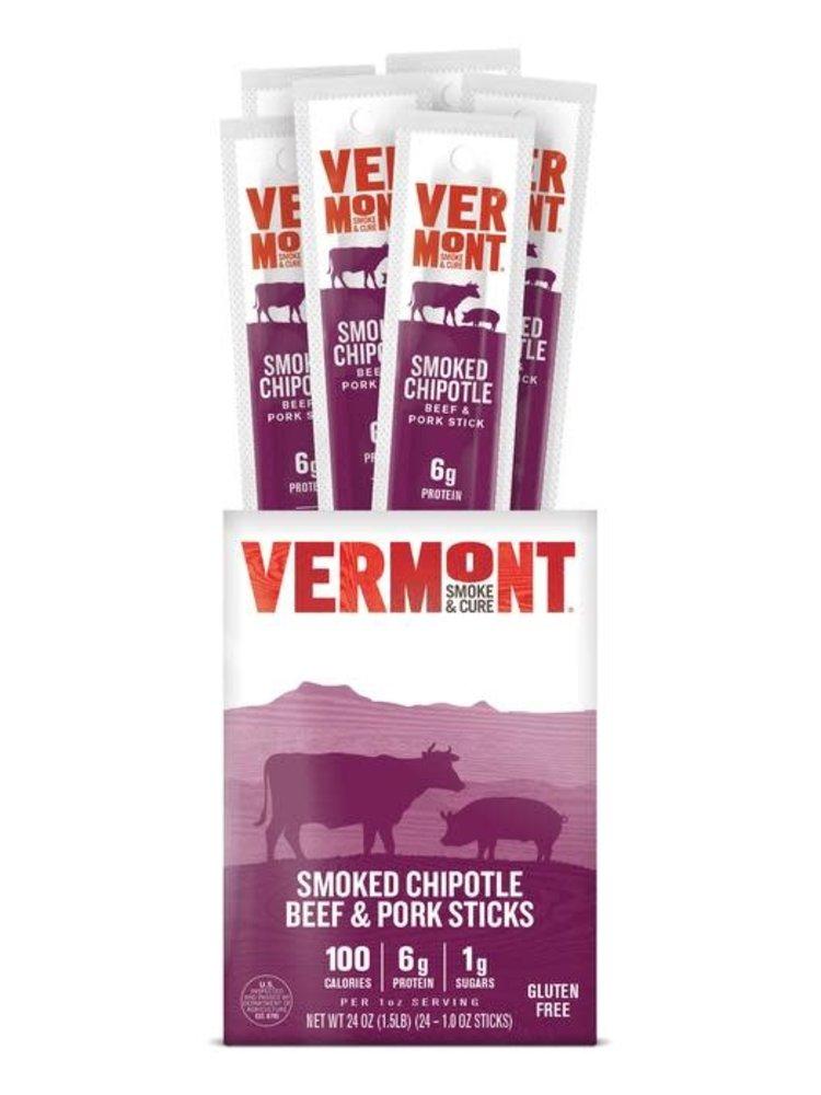 Vermont Smoke & Cure Smoked Chipotle Beef & Pork Snack Stick, 1 oz.
