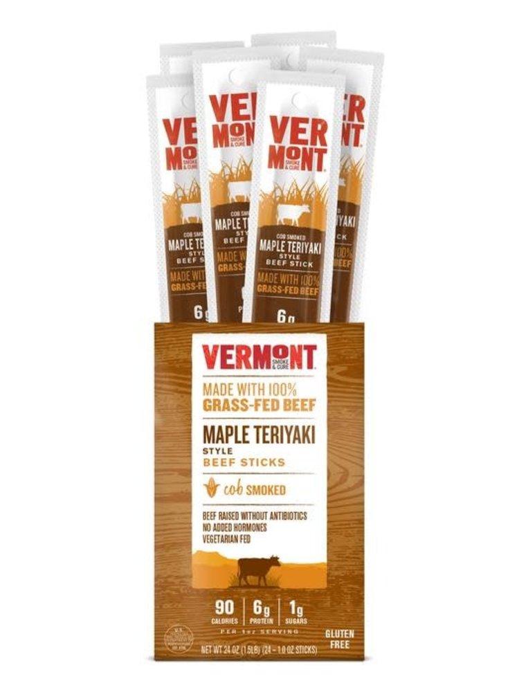 Vermont Smoke & Cure Maple Teriyaki Beef Snack Stick, 1 oz.