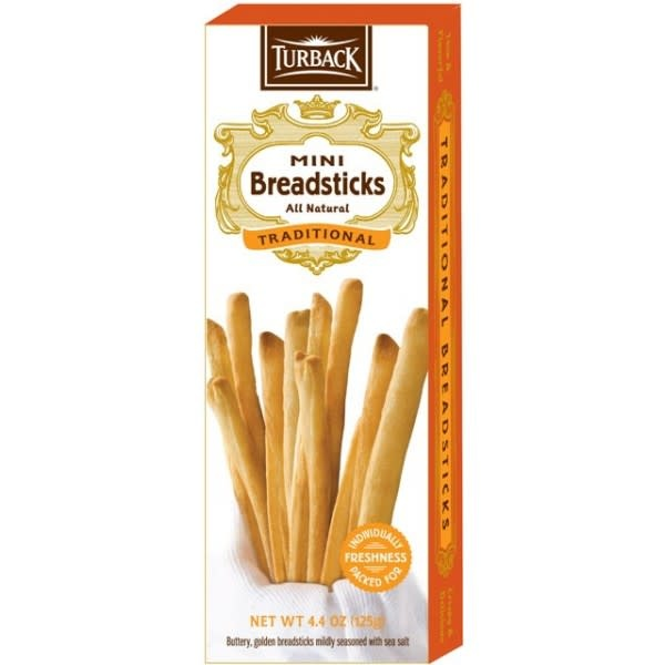 Turback Mini Traditional Breadsticks, 4.4 oz