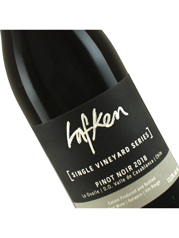 Lafken 2018 Single Vineyard Series Pinot Noir Leyda Valley, Chile