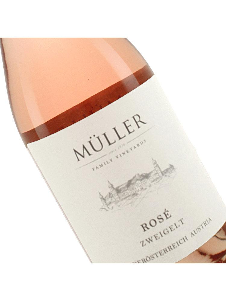 Muller 2020 Rose Zweigelt, Austria