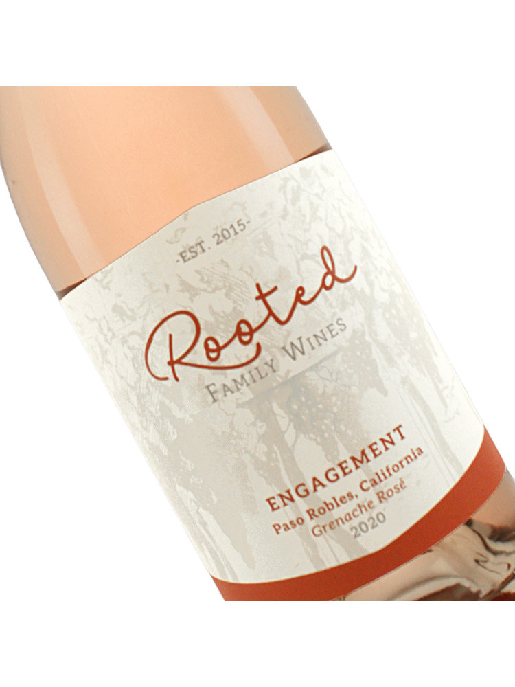 """Rooted 2020 Grenache Rose """"Engagement"""" Paso Robles, CA"""