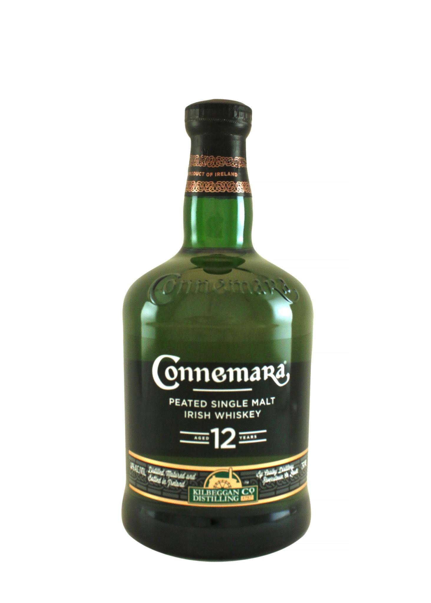 Connemara Peated Single Malt Irish Whiskey Aged 12 Years, Cooley Peninsula, Ireland