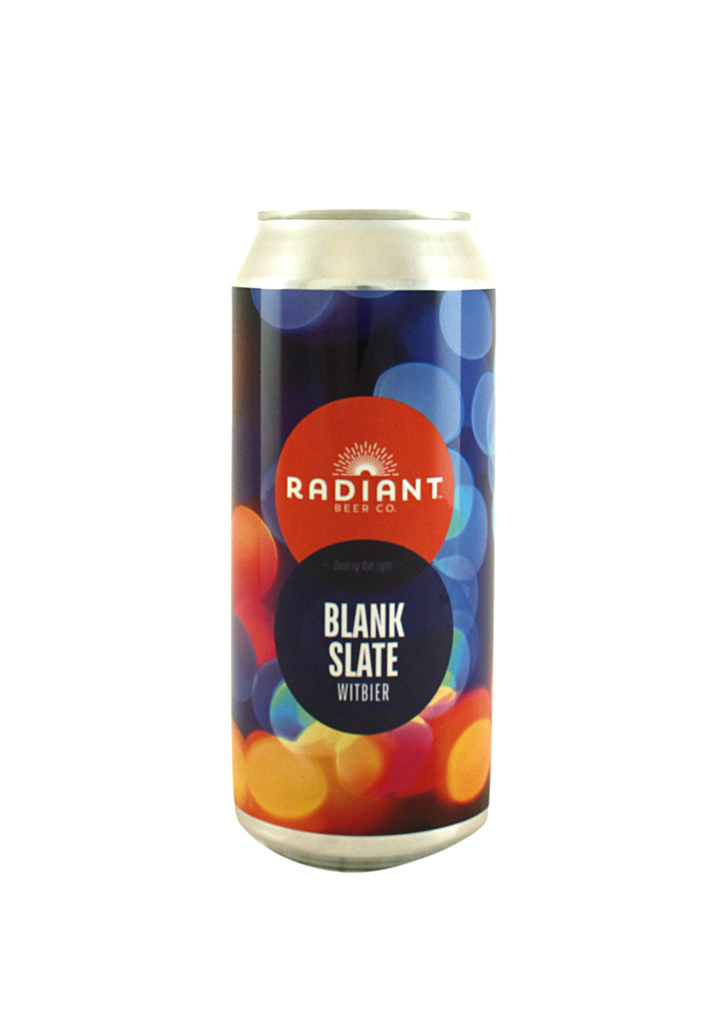 """Radiant Beer Co. """"Blank Slate"""" Witbier 16oz. can - Anaheim, CA"""